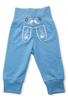 """Kinder-Jogginghose """"Waal"""" im Lederhosen Design - hellblau"""