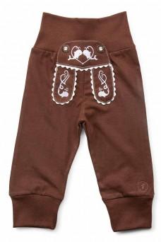 "Kinder-Jogginghose ""Waal"" im Lederhosen Design - dunkelblau"