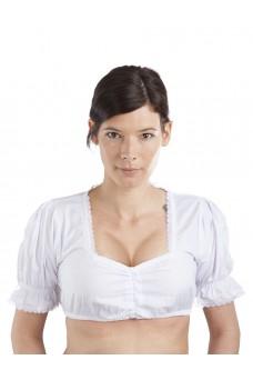 Damen Dirndlbluse Viva - weiß