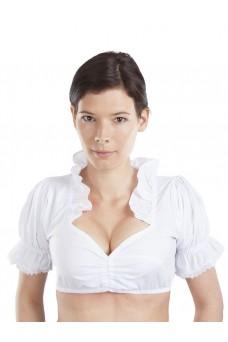 Damen Dirndlbluse Luna - weiß