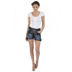Damen Trachtenhose Jeans Hotpants